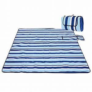 Picknickdecke 200 X 200 : iregro picknickdecke wasserdicht campingdecke 200 200 cm xxl fleece stranddecke strandmatte ~ Eleganceandgraceweddings.com Haus und Dekorationen