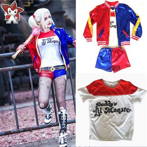 harley quinn kostüm für kinder squad harley quinn joker costume children s day gift jacket