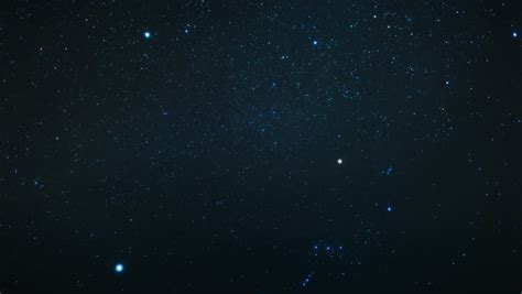 Starfield With Falling Star Time Lapse Stock Footage