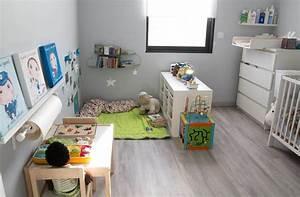 Chambre Fille Petit Espace : chambre b b montessori recherche google home sweet ~ Premium-room.com Idées de Décoration