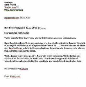 Wohnung Kündigen Per Email : absage bewerbung vorlage bewerbermanagement pinterest ~ Lizthompson.info Haus und Dekorationen