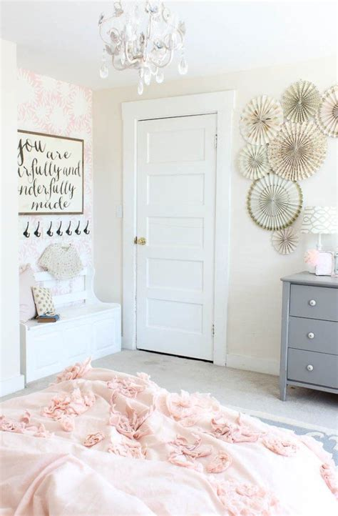 pink toddler bedroom ideas vintage little girls room reveal rooms for rent blog 16757 | a6a859af327d09302068c27af531f4c4