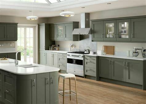 Sage Green Kitchen Cabinets Uk by Shaker Kitchens Mastercraft Kitchens