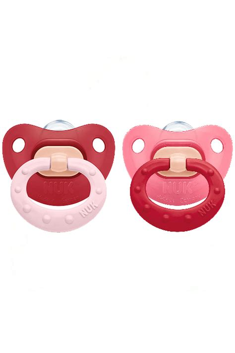 Nuk Silicone Pacifier Soother 6 18 Months 2pcs Fashion 10