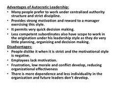 autocratic leader images leadership management