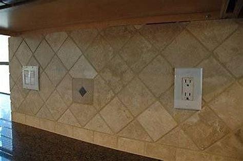install  travertine tile backsplash hunker