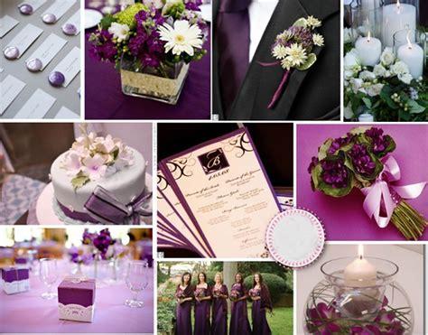 article de decoration pour mariage 50 nuances de violet pour votre mariage lovely day