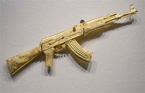 gold ak47 on behance