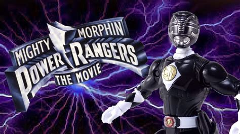 Mighty Morphin Power Rangers The Movie Legacy Black Ranger ...