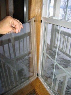 step  step method  plexiglass interior storm window  sealing  windows duri diy