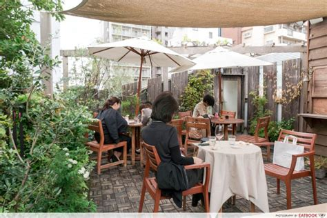 Looking for a new coffee shop to try in southern california with a divine outdoor space? Tokyo treehouse cafe - rooftop | Tree house, Patio umbrella, Cafe