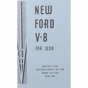 Book - Restorers Guide - 1936 Ford Car