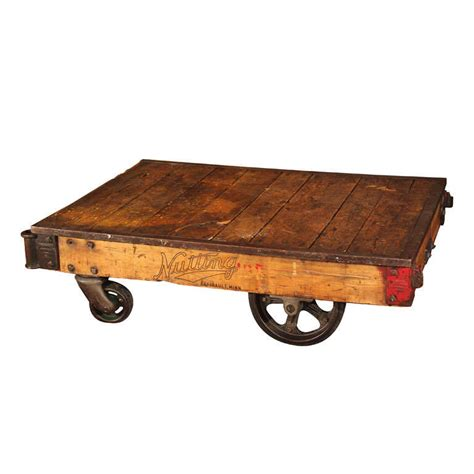 Nutting Factory Cart At 1stdibs