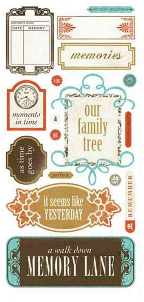 family memories seasons stickers images