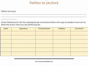 15 professional petition template and samples With petitions template