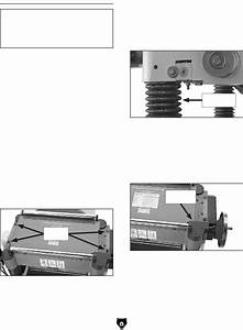 Page 33 Of Grizzly Planer G0453 User Guide