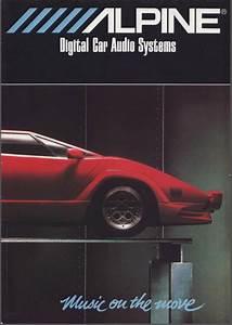 1989 Alpine Car Audio Brochure - Car Audio Forumz
