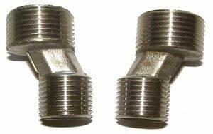 S Anschluss Armatur : 2x s anschluss 1 2 auf 3 4 zur montage wasseranschluss wasserleitung armatur ebay ~ Watch28wear.com Haus und Dekorationen