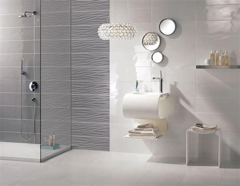 carrelage mural gris design salle de bains flavia espace