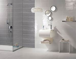 stunning idee pose carrelage salle de bain photos design With salle de bain sans carrelage