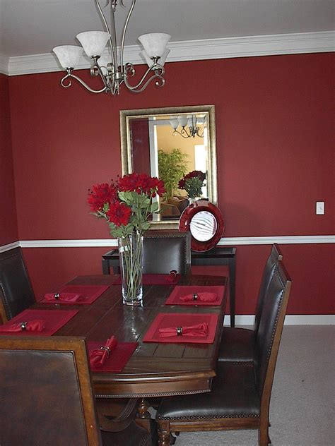 wall table colors for wine decorated dining room