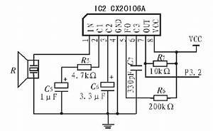 ultrasonic circuit page 3 audio circuits nextgr With ultrasonic range finder circuit free electronic circuits 8085