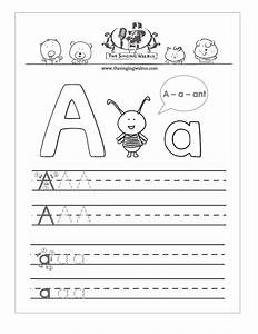 free handwriting worksheets for the alphabet With write a letter and print online