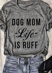 Dollar To Euro Chart 2017 Dog Life Is Ruff O Neck T Shirt Fairyseason