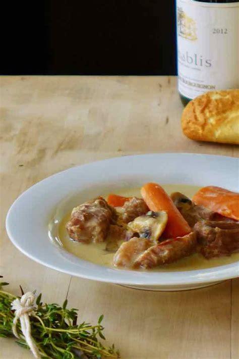 comment cuisiner une blanquette de veau blanquette de veau recette traditionnelle française