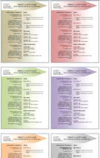 free resume template publisher 50 free microsoft word resume templates for
