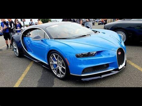 Bugatti Chiron Startup by 2018 Bugatti Chiron Details Sound Start Up Driving