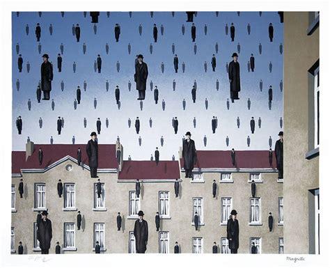 René Magritte - Golconde (Golconda) at 1stdibs
