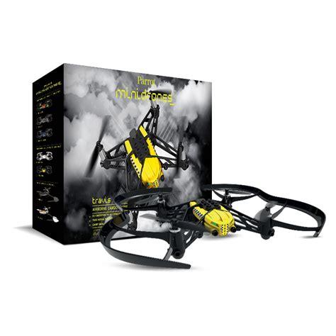 parrot airborne cargo drone travis yellow