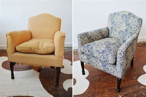 Furniture Re Upholstery by 33 Best Ideas About Upholstery Before After On