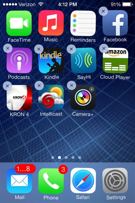 uninstall apps on iphone how to delete apps from iphone iphonphone