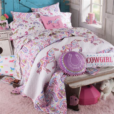 pony paisley bedding collection kids bedding