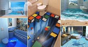 13, 3d, Bathroom, Floor, Designs, That, Will, Mess, With, Your, Mind