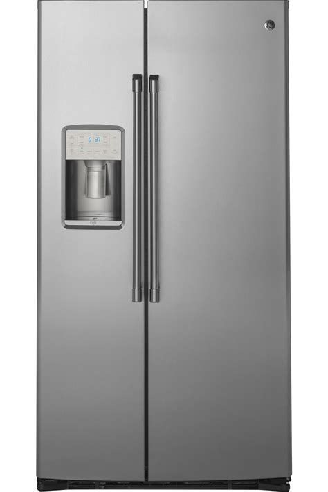 GE Cafe Stainless Side By Side Refrigerator   CZS22MSKSS
