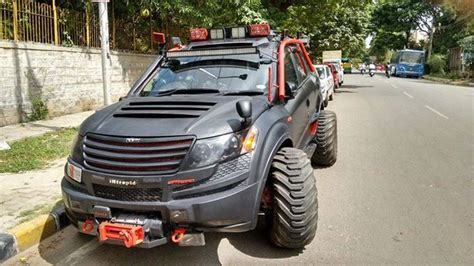 dilip chhabria modified jeep the gallery for gt xuv 500 modified by dilip chhabria