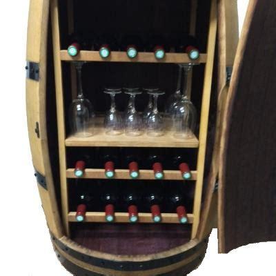 cave 224 vin barrique meuble range bouteille barriquecreation