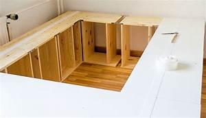 Schwebebett Selber Bauen : die besten 25 bett selber bauen ideen auf pinterest bett bauen palettenbett selber bauen und ~ Indierocktalk.com Haus und Dekorationen