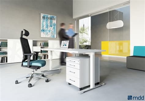drive bureau bureaux open space blanc orange