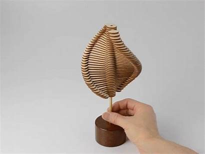 Sculptures Edmark John Kinetic Sculpture Interactive Laser