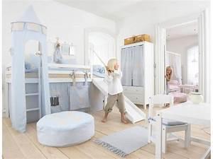 Lit Surélevé Avec Toboggan : lit cabane rigolo pour chambre enfant prix c lin so nuit ~ Melissatoandfro.com Idées de Décoration