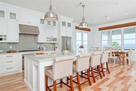 White Beach Kitchen Soft And Serene  In Detail Interiors
