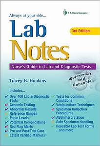 Labnotes  Guide To Lab  U0026 Diagnostic Tests  3rd Edition