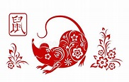 Happy Chinese New Year 2019 Sign Zodiac Pig Cut Red Paper. Vector Illustration Stock Vector - Illustration of lunar, china: 128892809