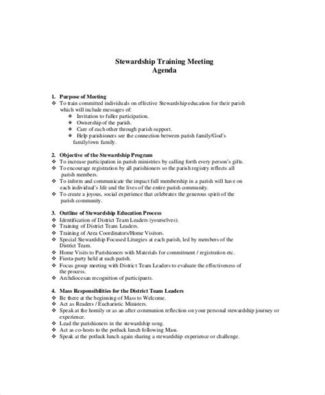 marketing meeting agenda templates  sample