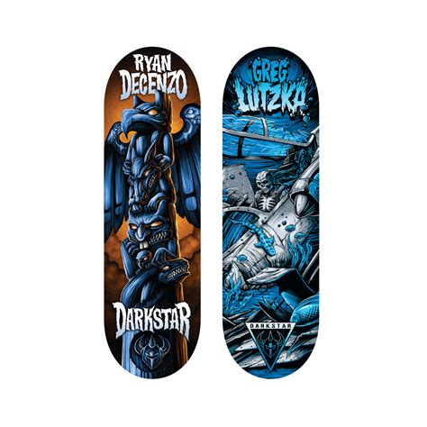 spin master tech deck 96mm fingerboard darkstar series