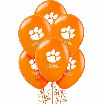 Clemson Balloons Tigers 10ct Icon Party Email
